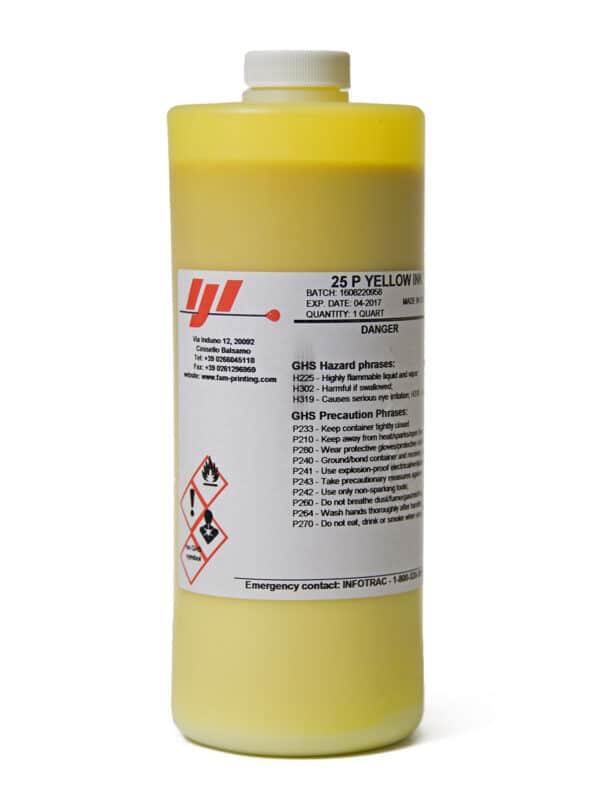 Краска IJI 25p Yellow (Videojet 16-2500)