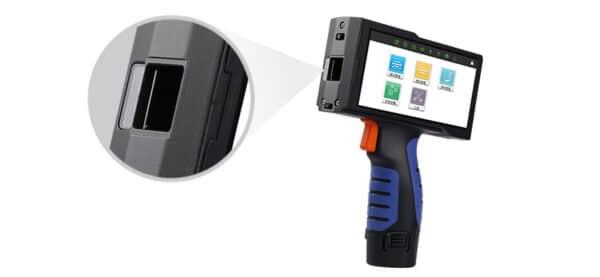 Ручной термоструйный маркиратор Sojet V1H система с двумя роликами