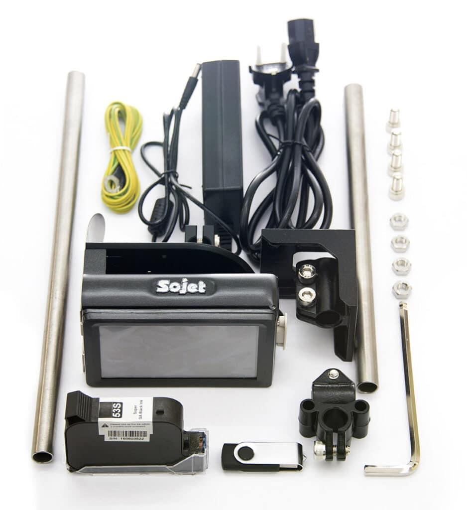 Термоструйный маркиратор Sojet Elfin 1 комплект поставки