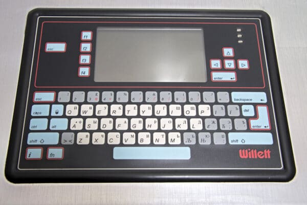 Каплеструйный маркиратор Willett 460 клавиатура