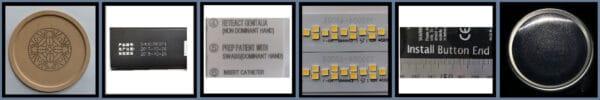 Лазерный маркиратор Fastjet F8100 примеры маркировки