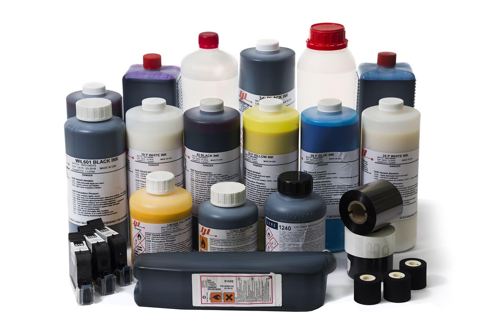 Расходные материалы для маркировочного оборудования