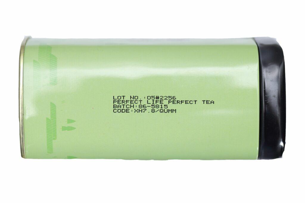 Каплеструйный маркиратор Fastjet F550 пример маркировки
