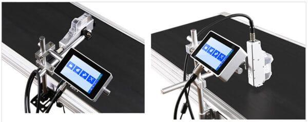 Термоструйный маркиратор Sojet Elfin IS пример установки на линию