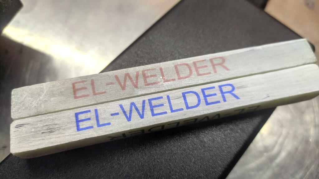 Термоструйный маркиратор Sojet Elfin 1 пример печати